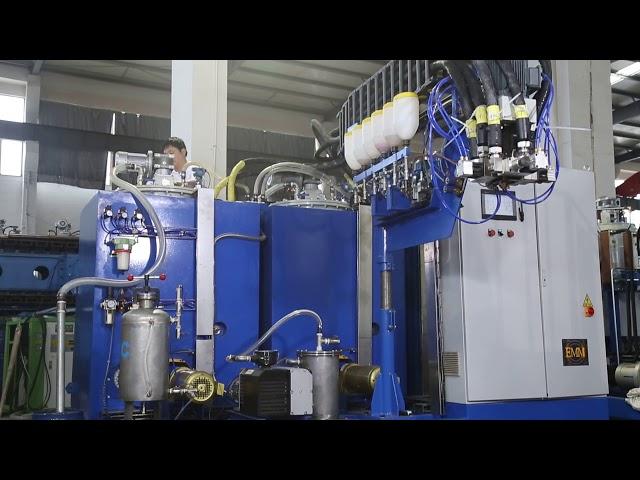 medium and high temperature polyurethane elastomer pouring machine